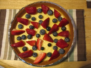 Basic Cheesecake with fruit toppings